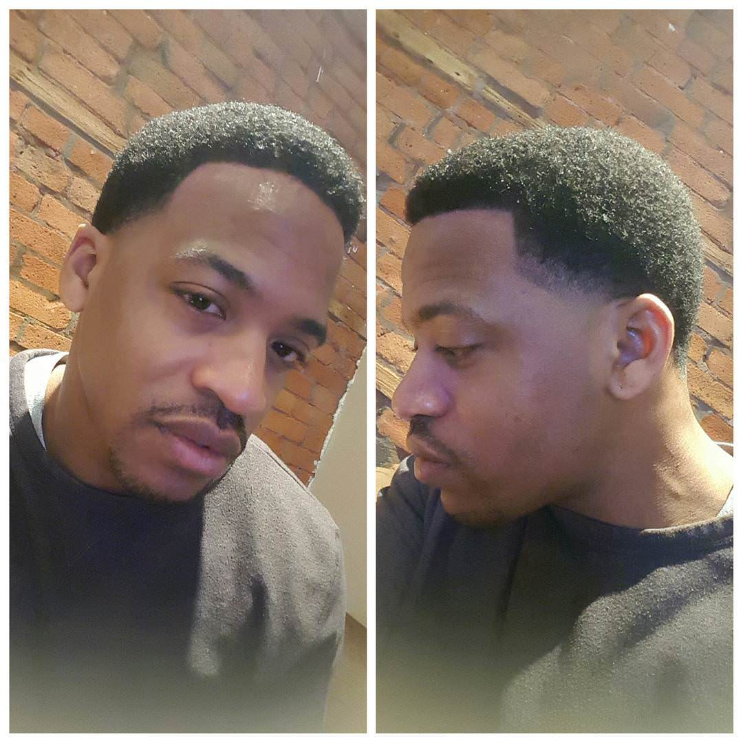 Low Fade Afro Fadec Haircut