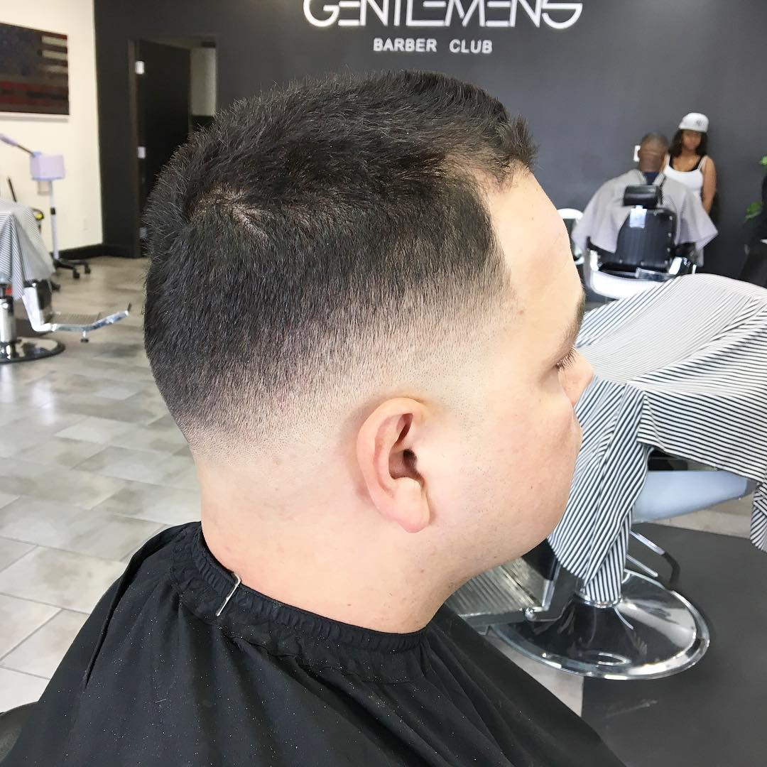 Mid Fade Hairstyle