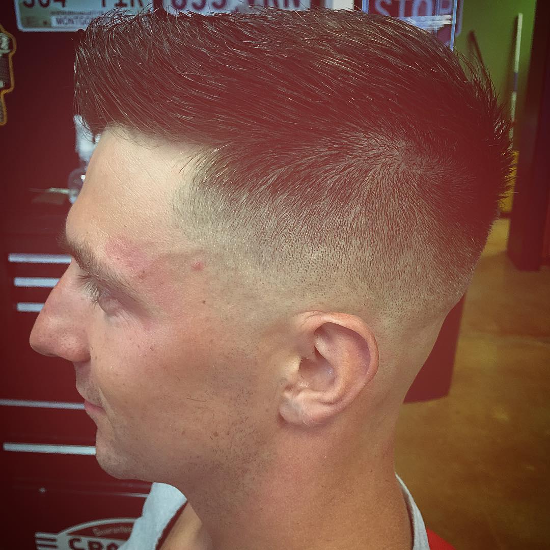 Military Fade Haircut