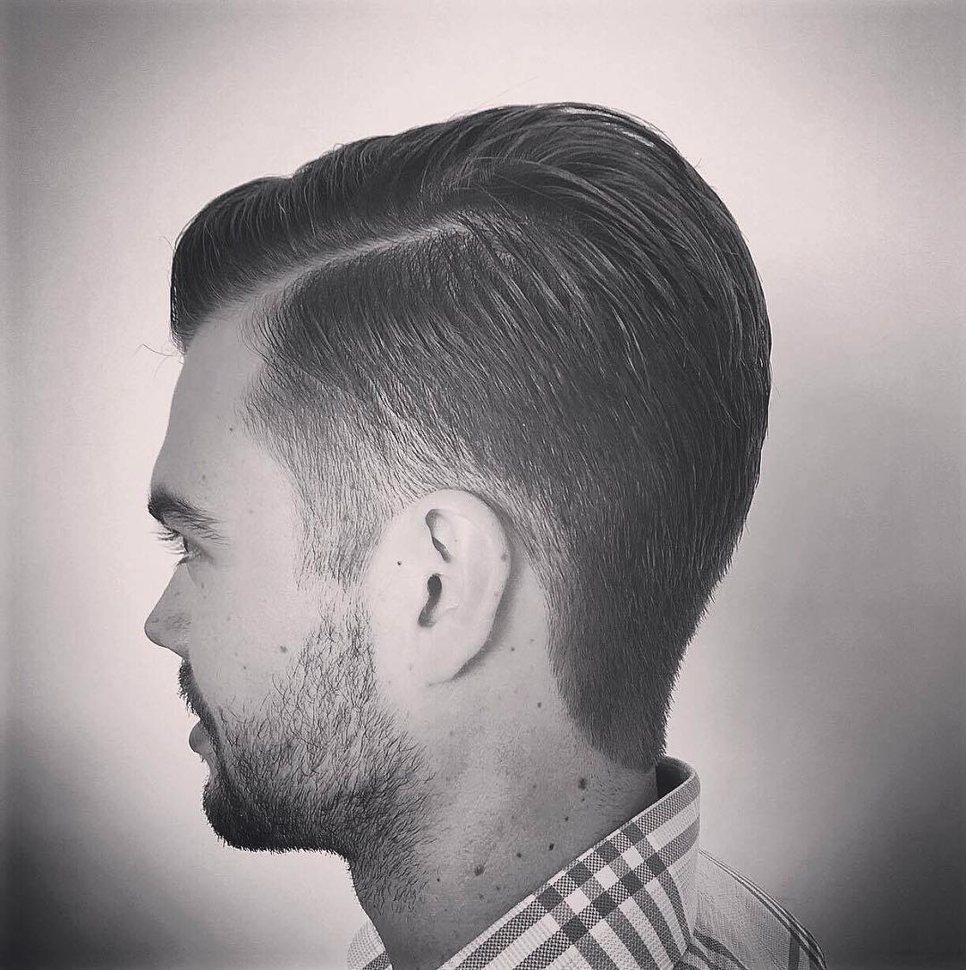 Short Fade Hairstyle Design
