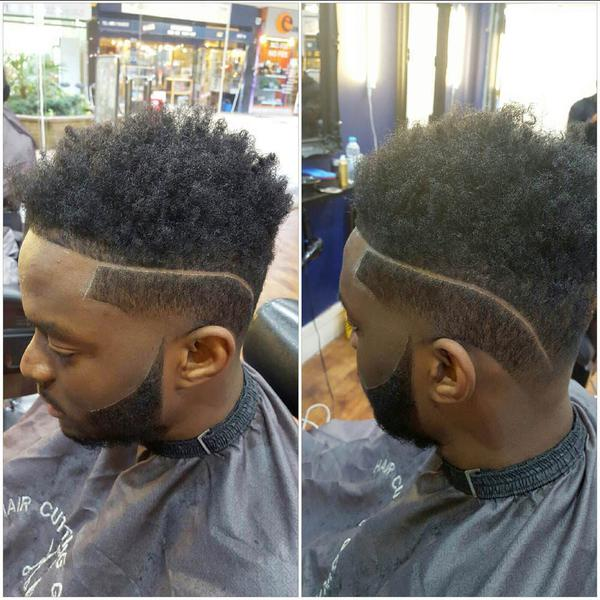 Tapered Temple Fade