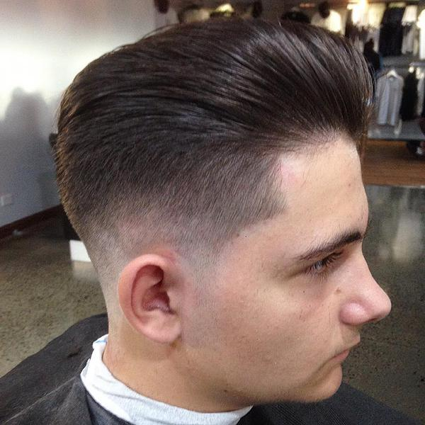 Zero Fade Haircut Design