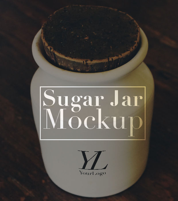 Awesome Sugar Jar Mockup Ideas