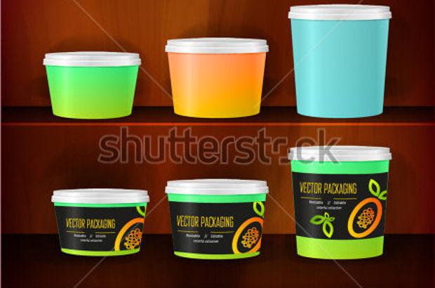 jar package for brand mockup designs