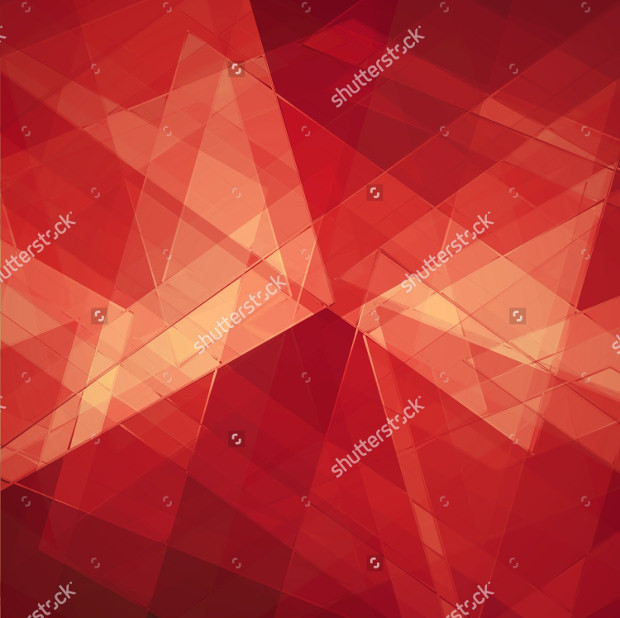 geometric background red texture