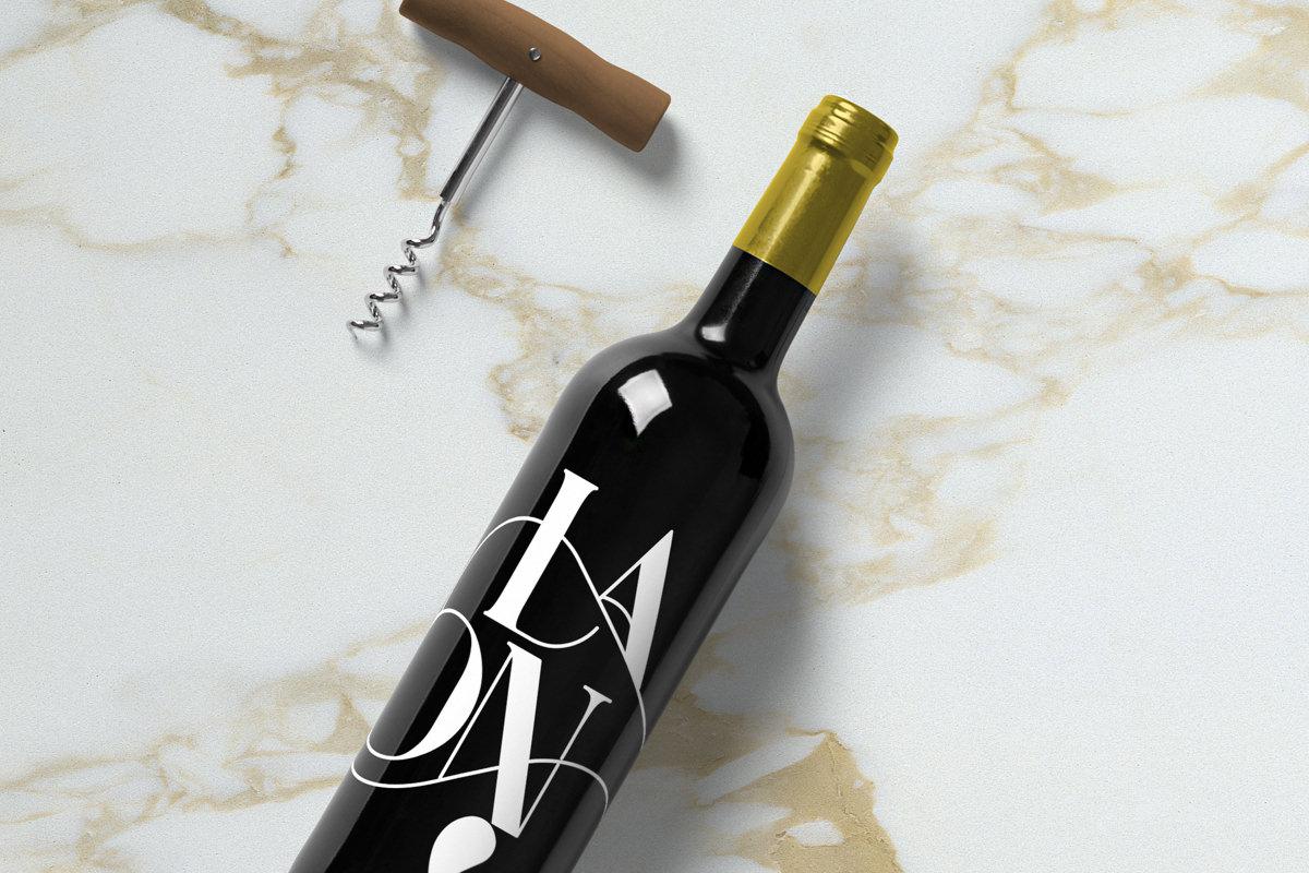 19+ Free Wine Bottle Mockups PSD | Mockups | Design Trends