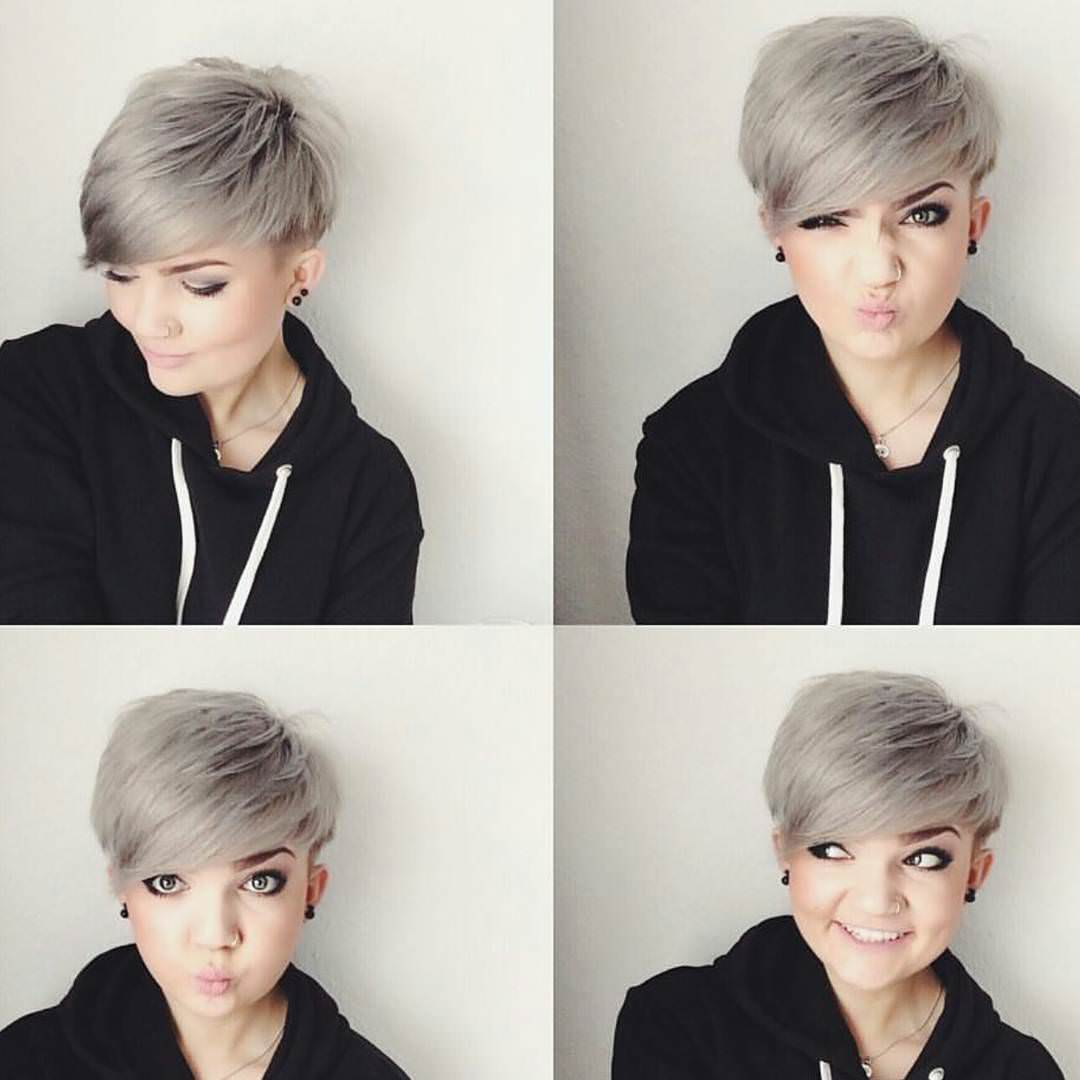 Attractive Pixie Haircut for Women