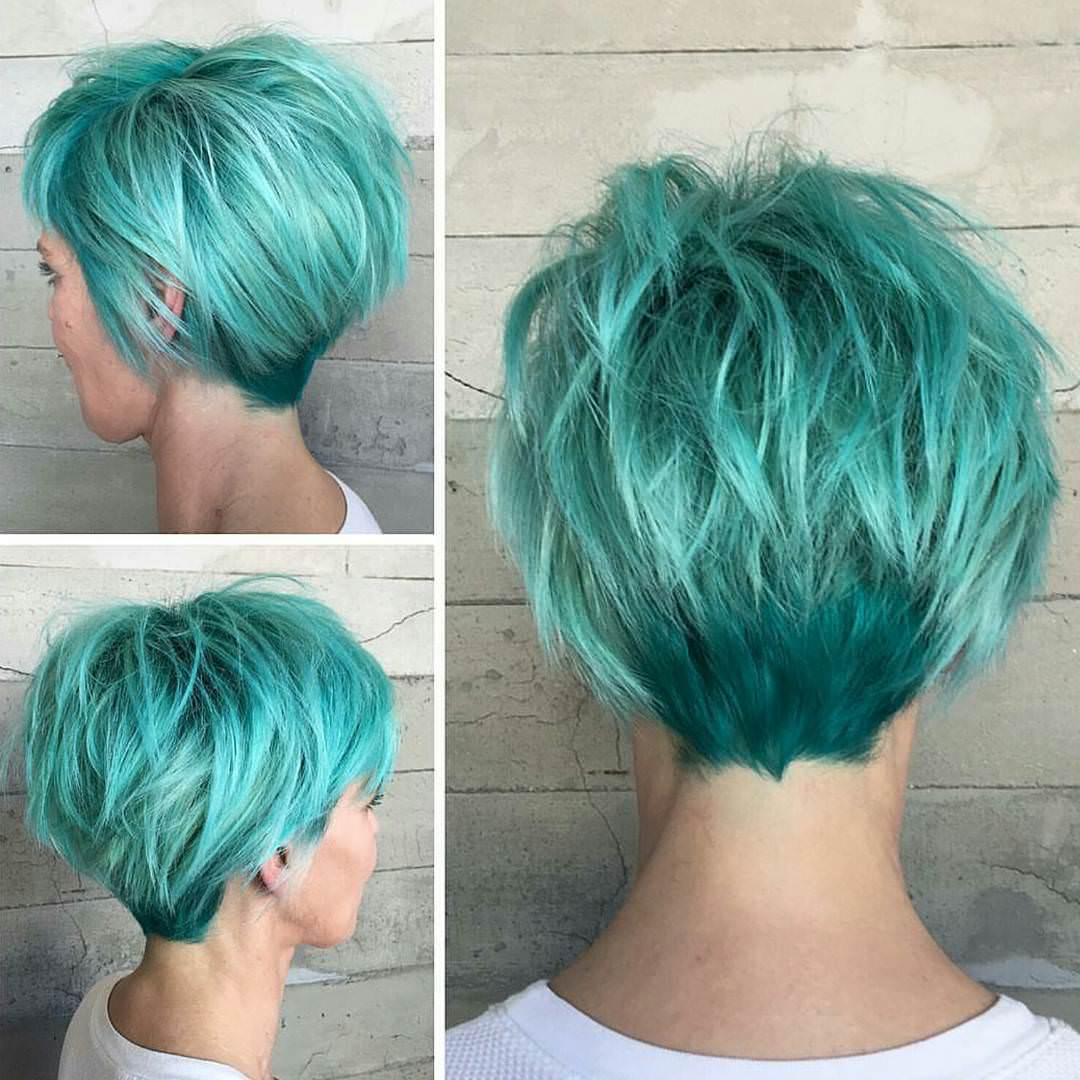 Fashionable Pixie Haircut for Women