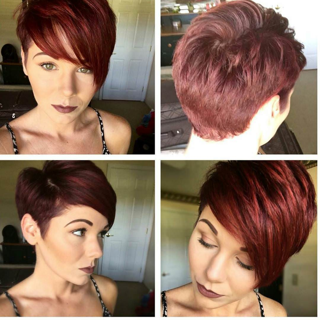 Nice Looking Pixie Haircut for Women