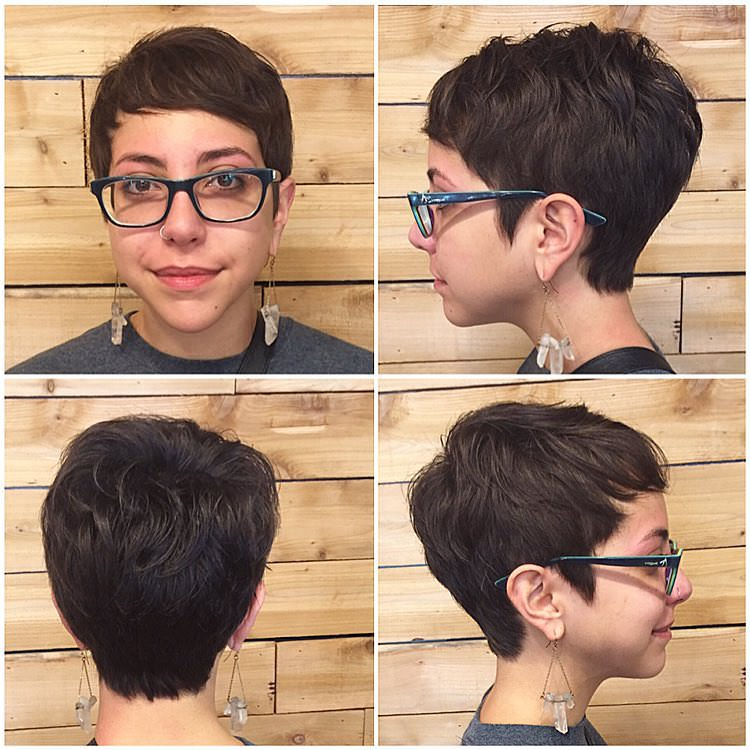 Trendy Pixie Haircut for Women