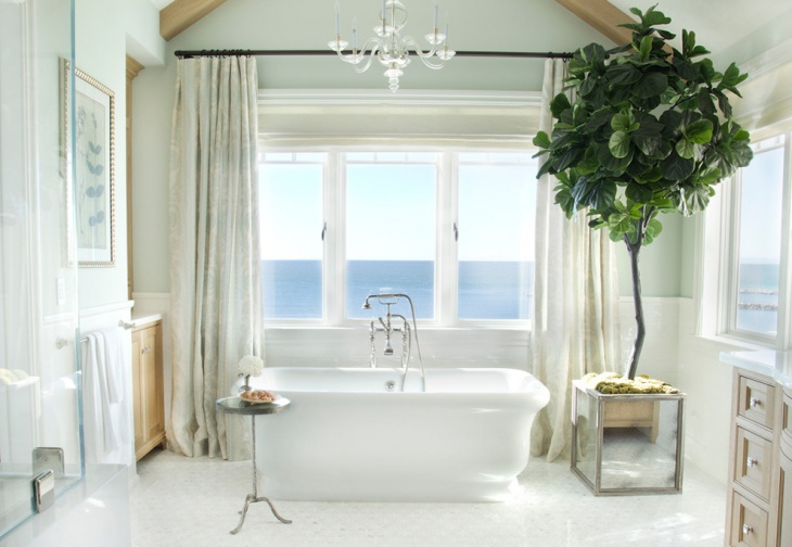 Genial Coastal Beach House Bathroom Picture