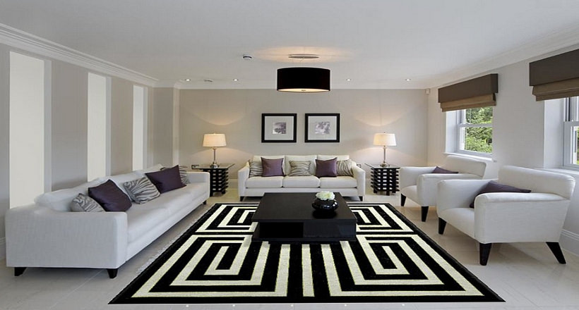 13+ Living Room Carpet Designs, Decorating Ideas | Design Trends ...