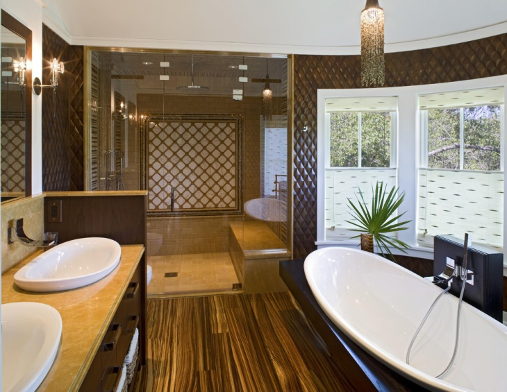 20 beach bathroom designs decorating ideas design for Coastal contemporary design
