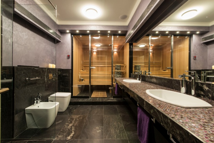 Restroom Design Extraordinary 15 Commercial Bathroom Designs Decorating Ideas  Design Trends . Decorating Inspiration