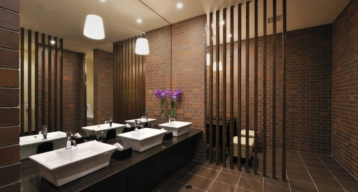 15+ Commercial Bathroom Designs, Decorating Ideas | Design ...