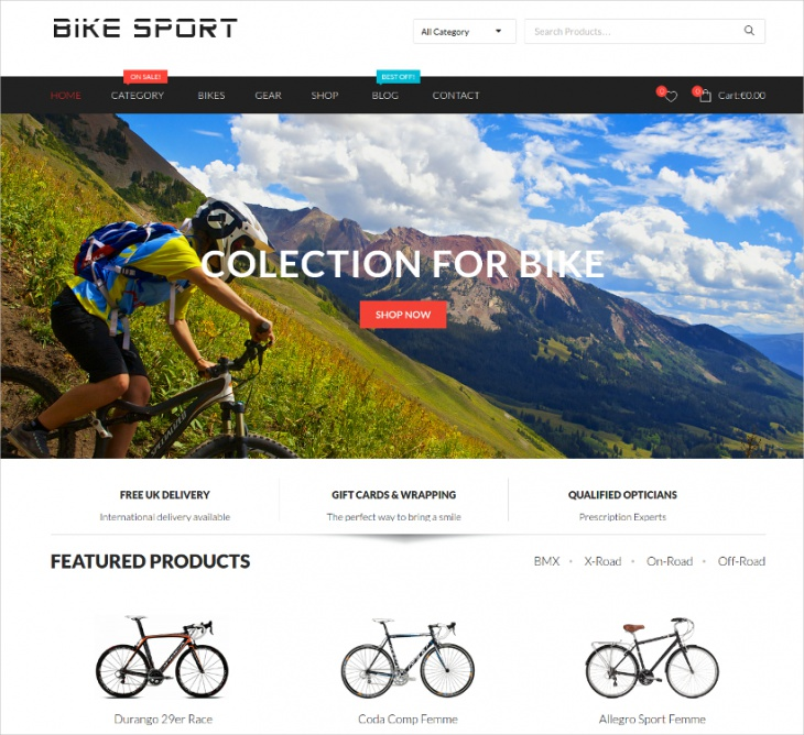 Flexible WooCommerce Theme