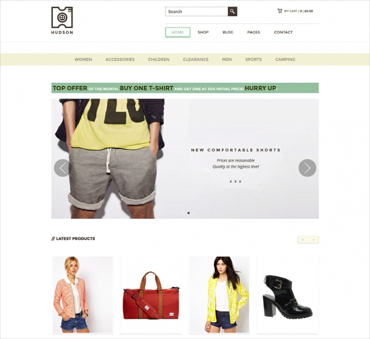 Stylish Ecommerce Theme
