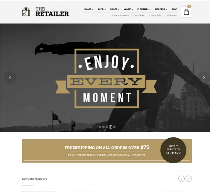 ecommerce retail store theme