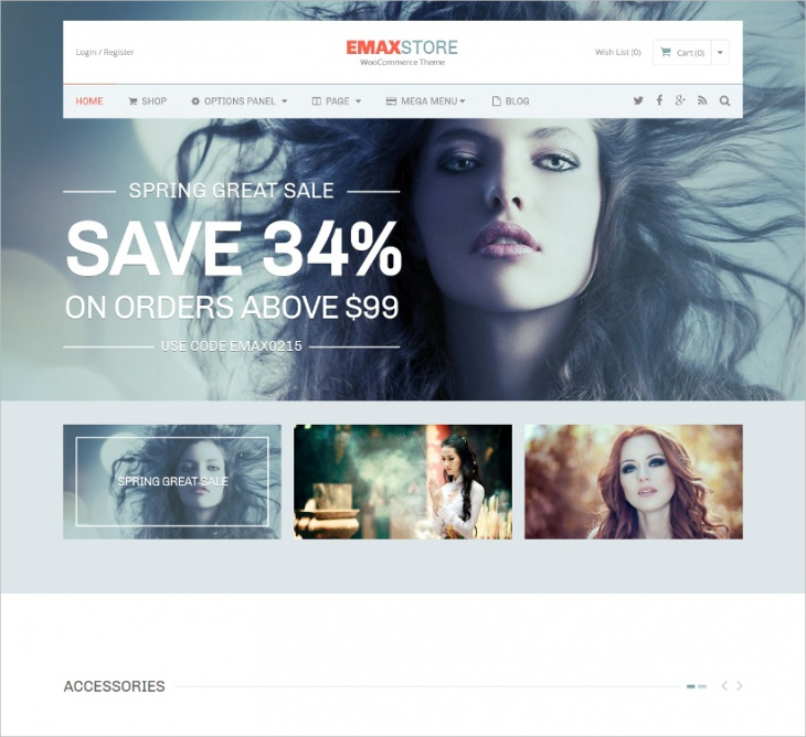 Sales Engine Responsive eCommerce Theme