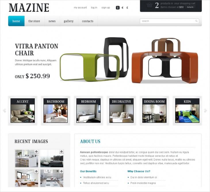 flexible ecommerce theme