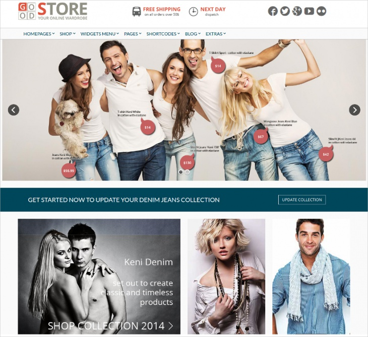 Retro eCommerce WP Theme