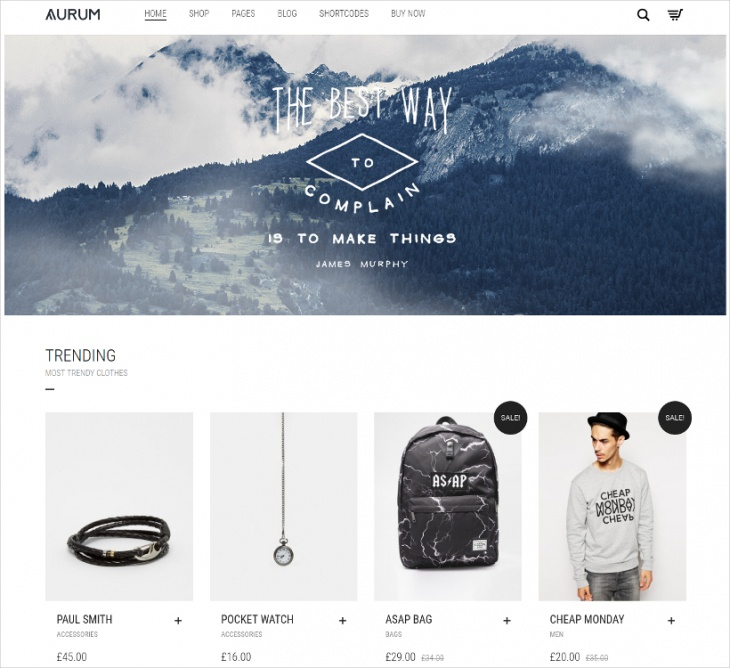 Modern Multpurpose eCommerce Theme