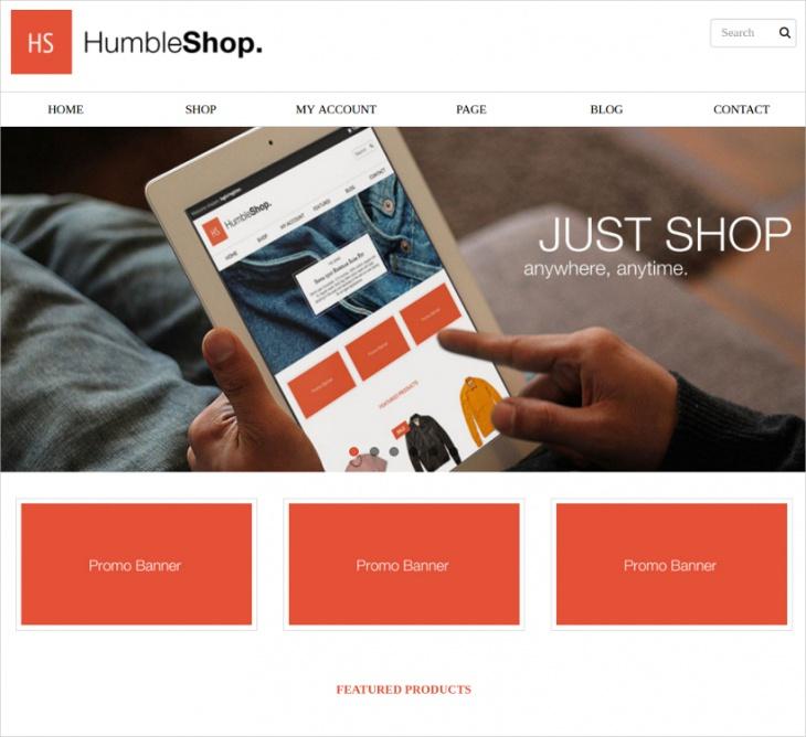 eMaxStore eCommerce Theme