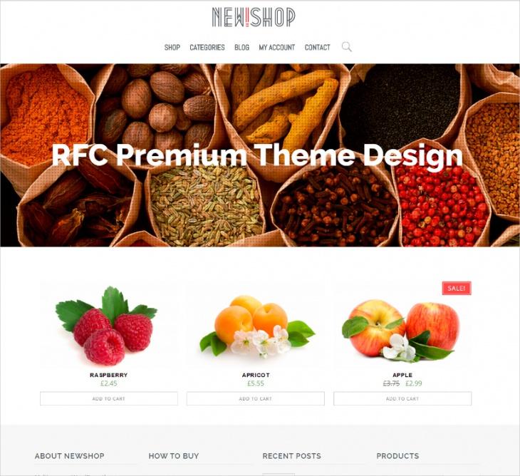 flexible ecommerce wp theme