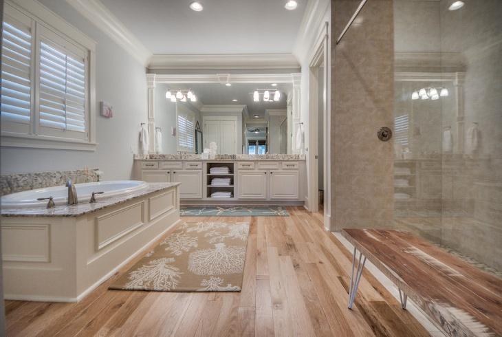 Bathroom With Chandelier Coastal Bathroom Designs Decorating Ideas