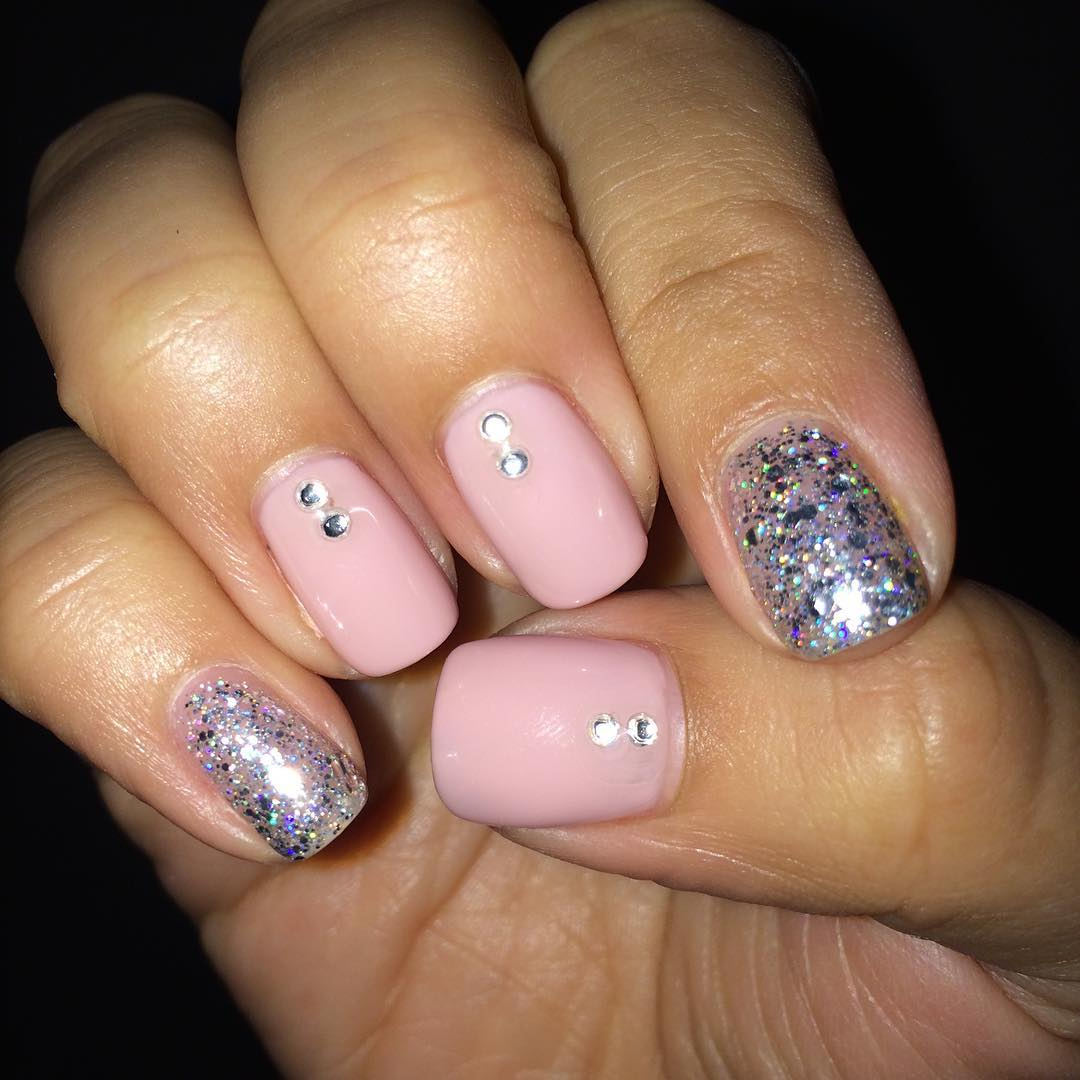 29+ Pink and Silver Nail Art Designs, Ideas | Design Trends ...