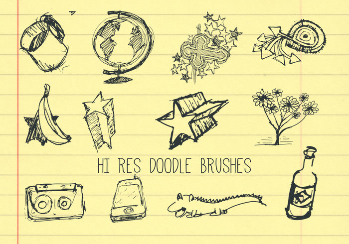 Cool Doodle Brushes