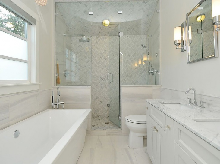 20+ Small Master Bathroom Designs, Decorating Ideas | Design ...