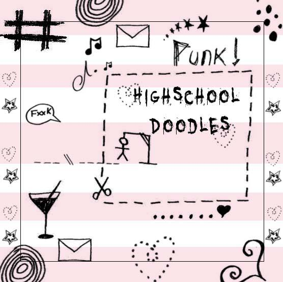 High School Doodle Brush