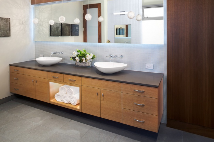 Hanging Vanities With Drawers
