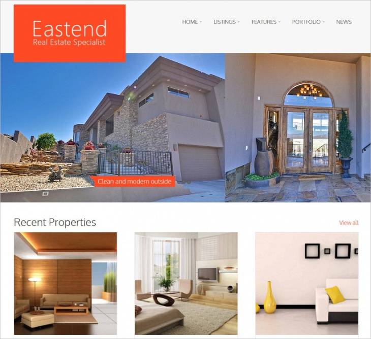 cool real estate wordpress theme