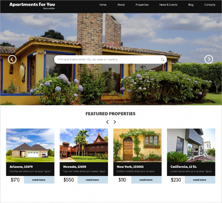 buying house wordpress theme