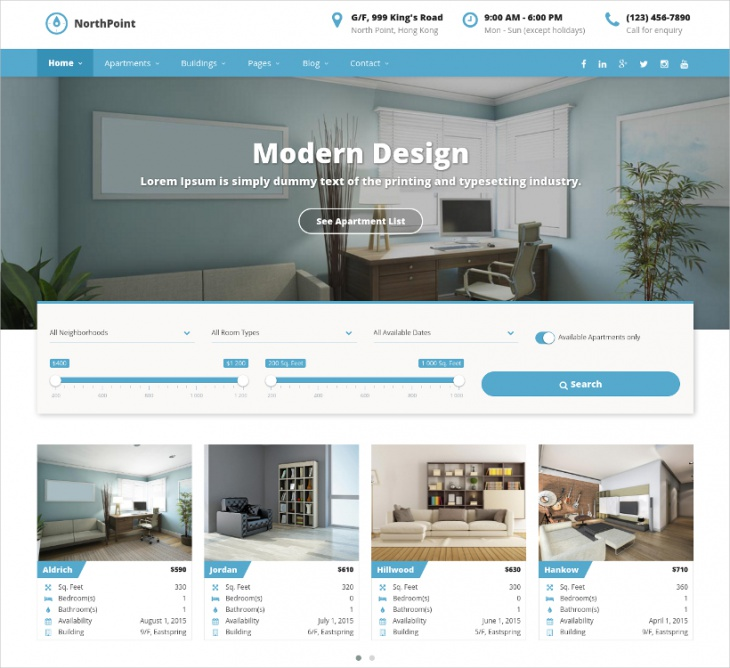 house rental wordpress directory theme
