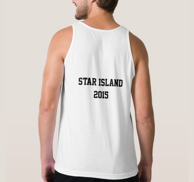 Slim Fitting Men Tank Top Mockup