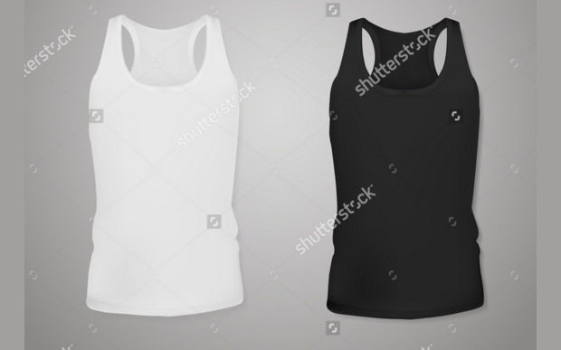 Set of Two Tank Top Mockup
