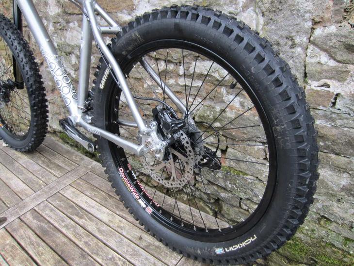 Wider Tyres