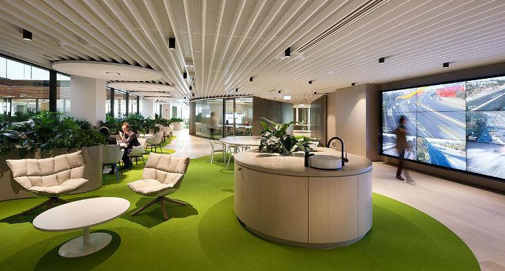 Office Workplace Design Trends: Design Trends - Premium PSD