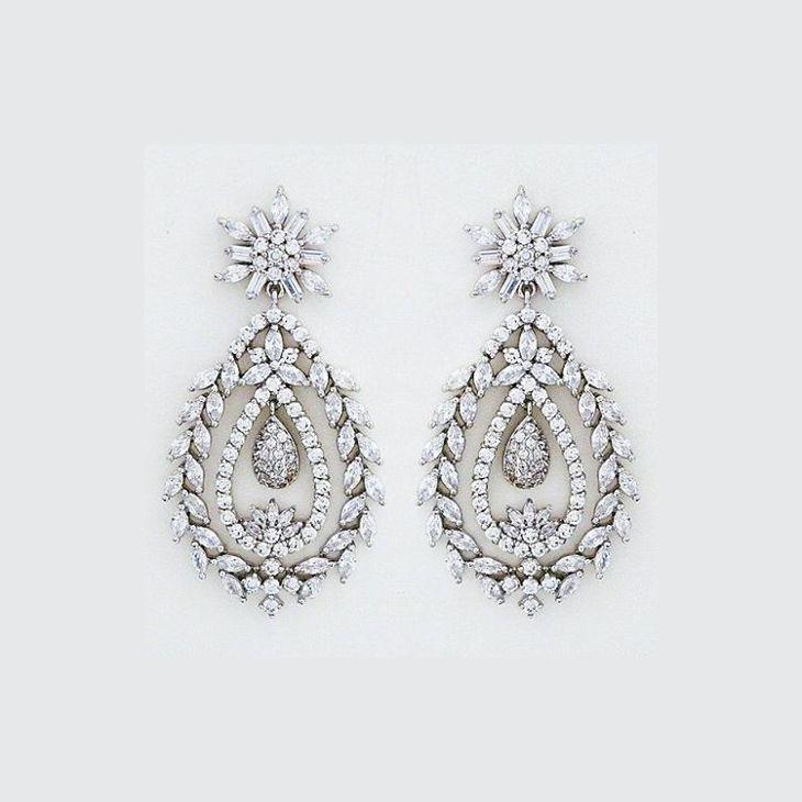 Bridal Glowing Earrings