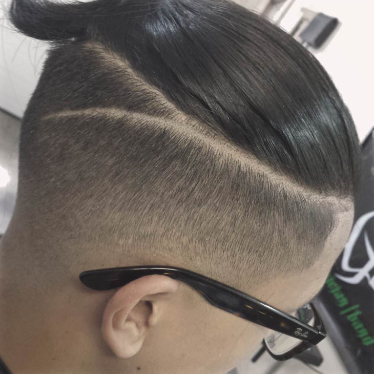 Drop Fade Haircut Design