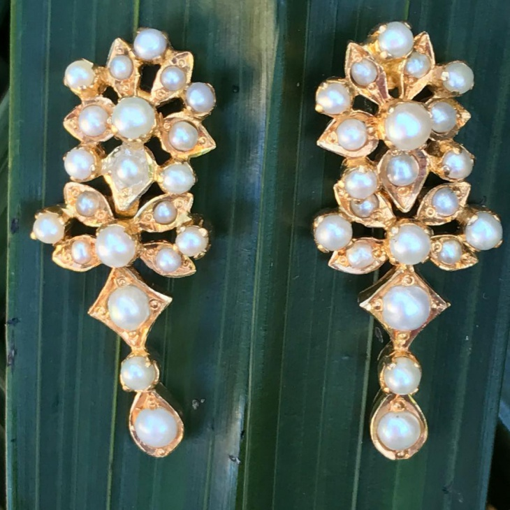antique wedding earrings idea
