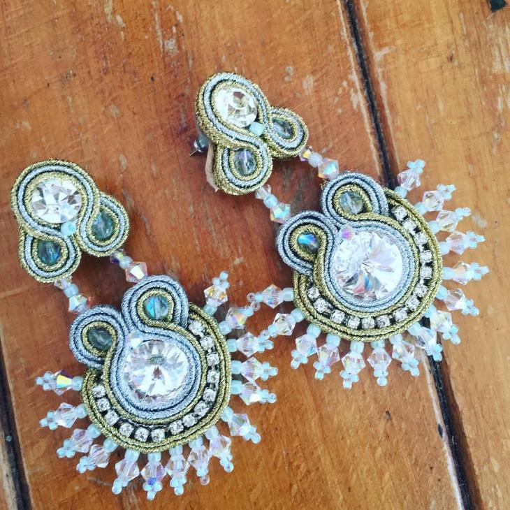 Hippie Style Wedding Earrings