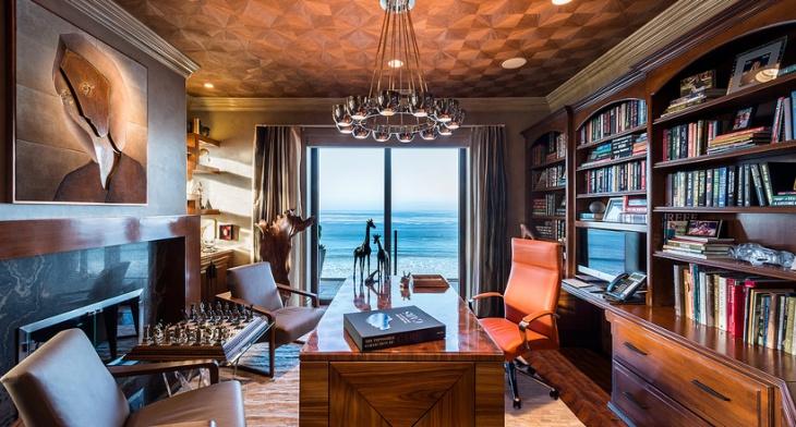 Design Trends Premium: 20+ Library Home Office Designs, Decorating Ideas