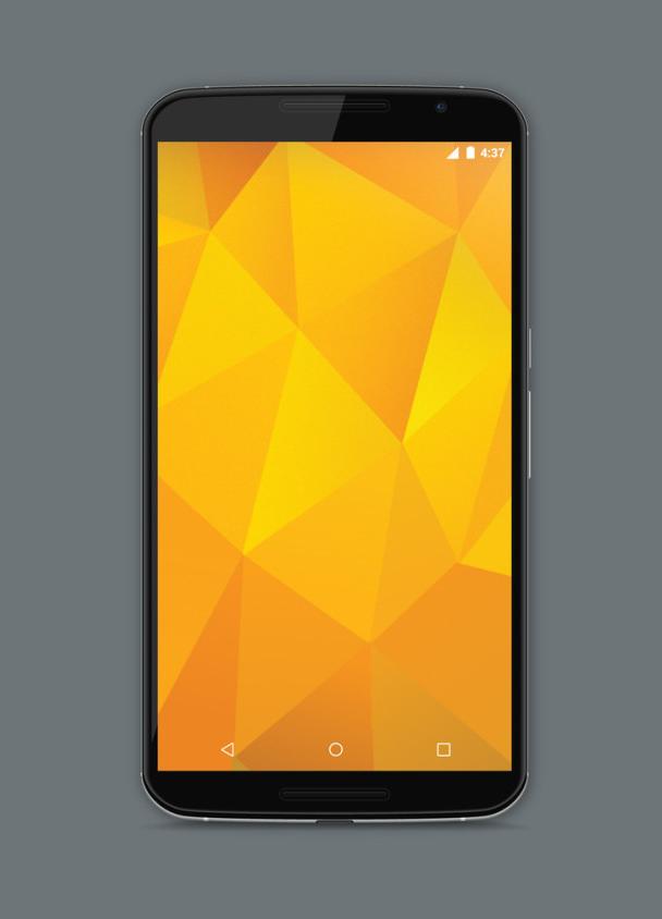 Nexus 6 Front Mockup