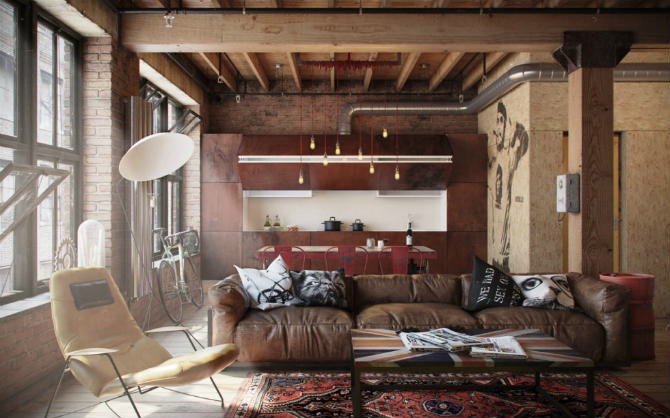Right Industrial Style Design
