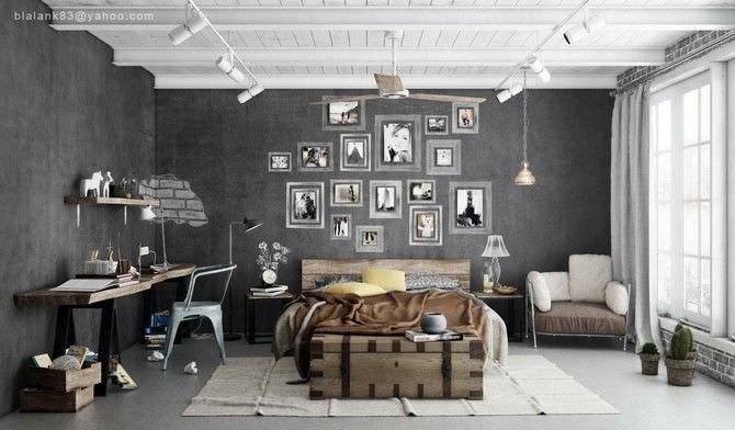 Chic Industrial Style Design