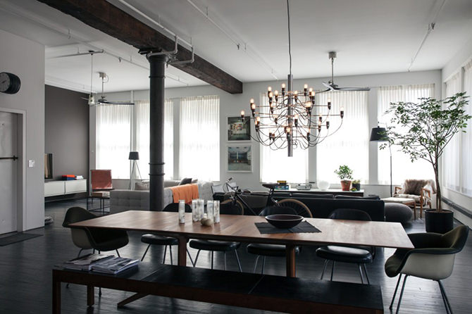 Style Lighting Industrial Style Design